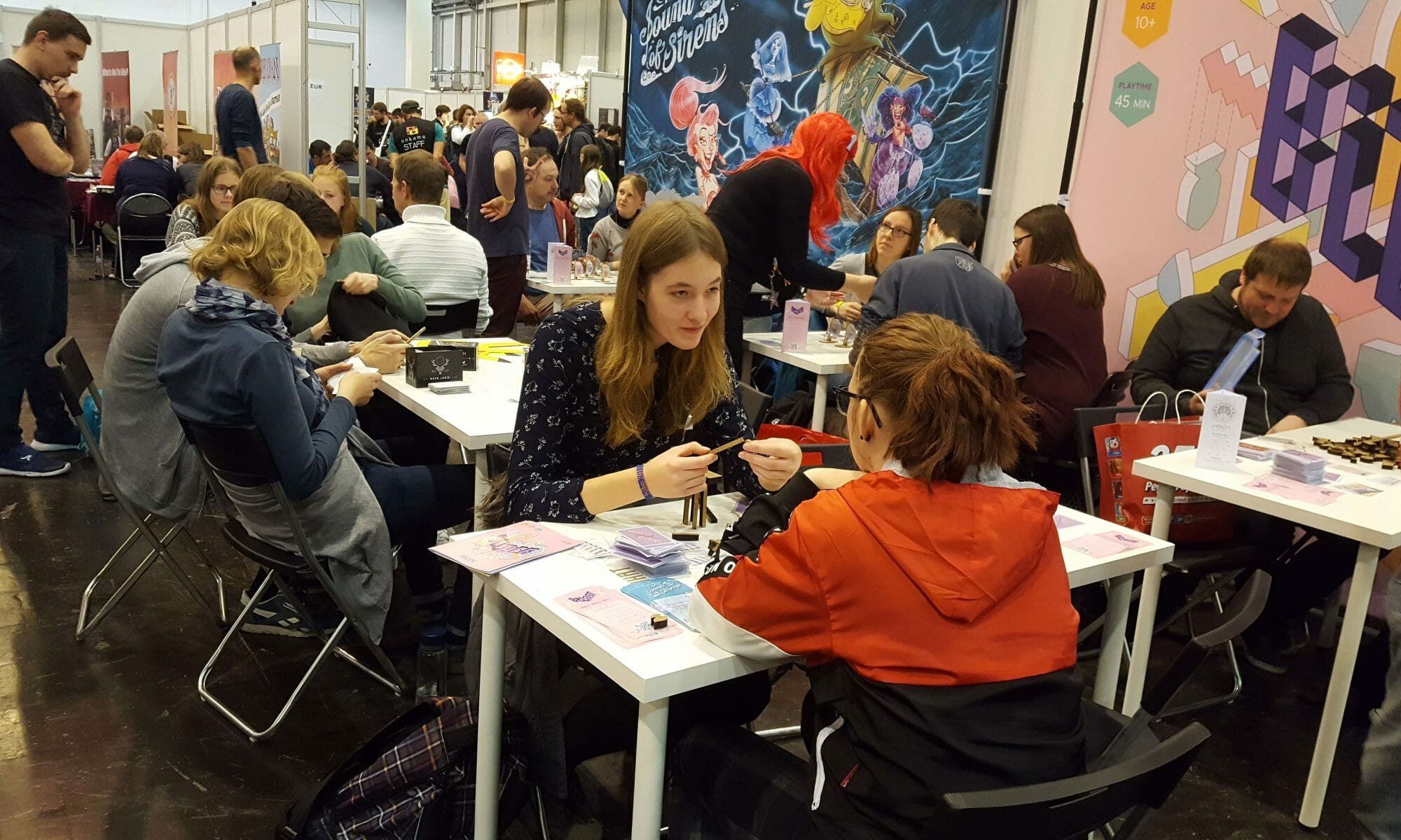 tips for exhibitors for board game fair spiel