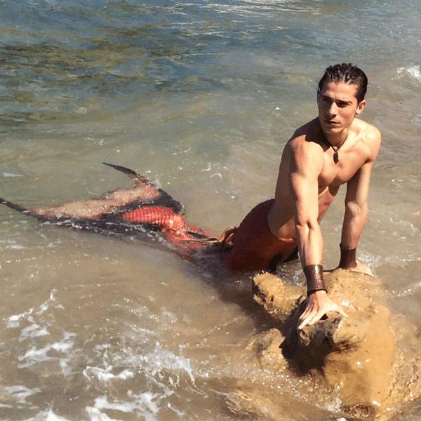 real mermaid aden