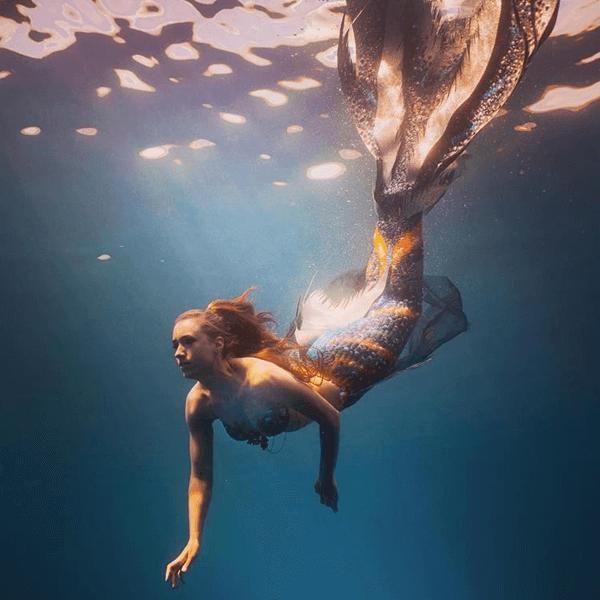 real mermaid celine