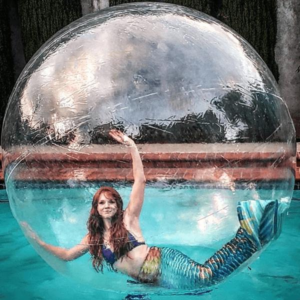 real mermaid ginger