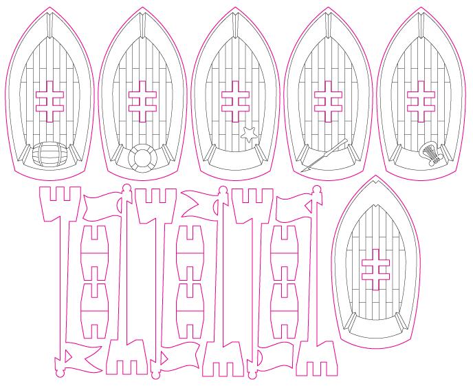 lasercut-ships