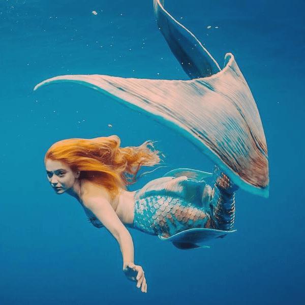 real mermaid lexie