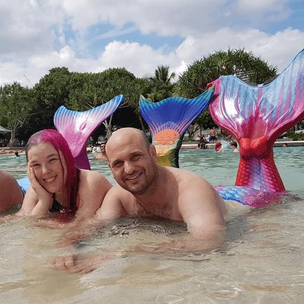 real mermaid andrew