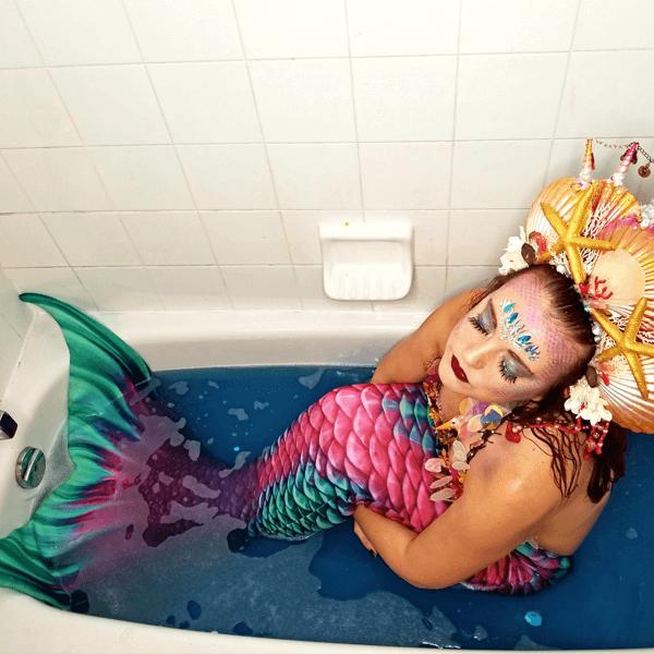 real mermaid raina