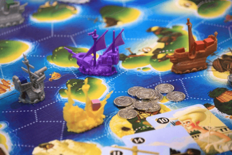 nautical board game black fleet