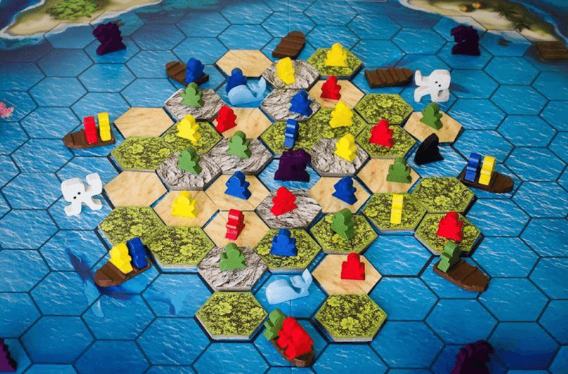 nautical board game escape from atlantis