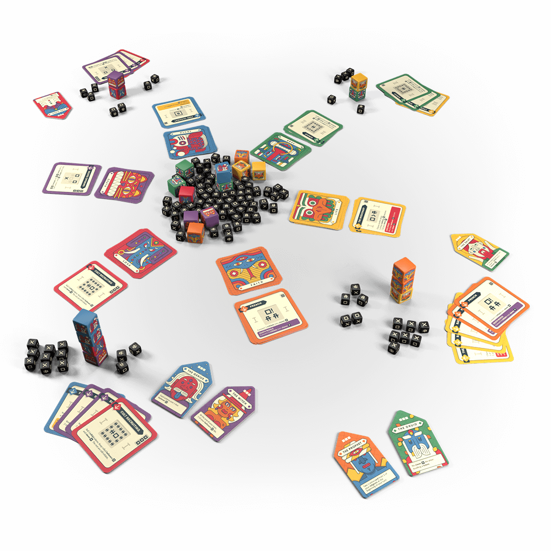all totems and taboo game components